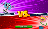 Gumball vs. Leslie
