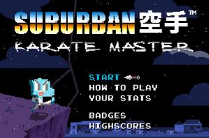 Suburban Karate Master(Title Picture)