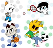 Sports mix by bluexix-d6ayk8o