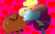 Tawog rachel and darwin kiss by bigpurplemuppet99-d5yykw2