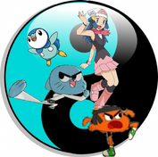 Gumball, Darwin, Dawn & Piplup with Martial arts