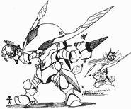 Rough shadowkan doodles25 by kainsword kaijin-d8tamox