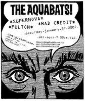 Aquabats flyer