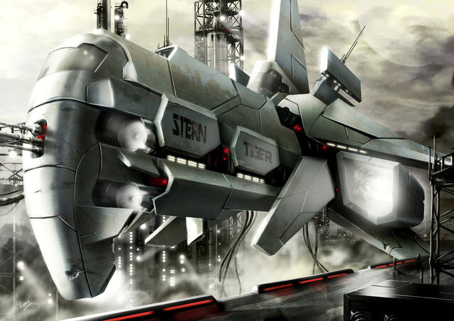 File:Spaceship stern tiger by ptitvinc.jpg