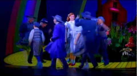 The Wizard of Oz at the London Palladium - new footage