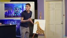 Giraffepainting