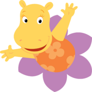 The Backyardigans Tasha in Flower Nickelodeon Character Image