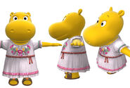 The Backyardigans Viejo Resident Tasha Model Sheet