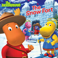 The Backyardigans The Snow Fort - iTunes Cover (Canada)