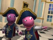 Backyardigans The Two Musketeers 42 Uniqua Austin