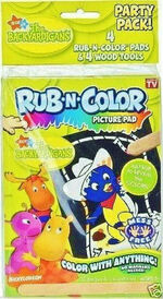 The Backyardigans Rub-N-Color Picture Pad