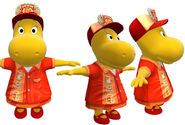 The Backyardigans Pizza Delivery Girl Tasha Model Sheet