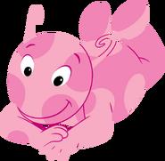 The Backyardigans Uniqua Lying Down Nickelodeon Character Image