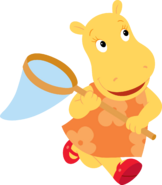 The Backyardigans Tasha with Net Nickelodeon Character Image