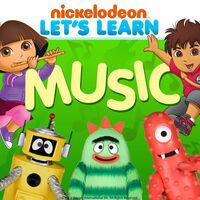 Nickelodeon Let's Learn Music - iTunes Cover (United States)