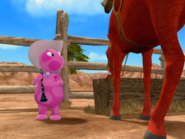 The Backyardigans Uniqua and Harvey