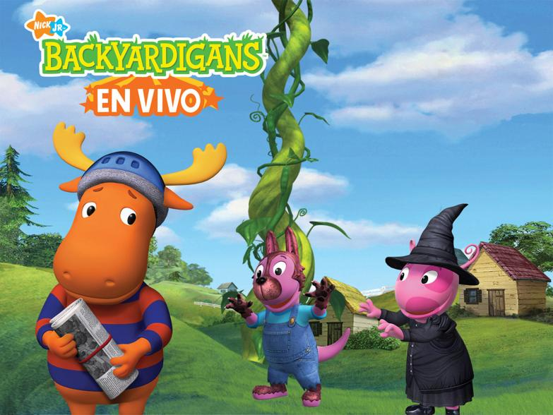 image promo en vivo the backyardigans wiki fandom powered by wikia. Black Bedroom Furniture Sets. Home Design Ideas