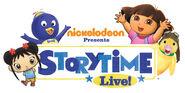 Nickelodeon Storytime Live! Logo