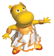 The Backyardigans Tasha Goddess of the Weather