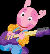 The Backyardigans Let's Play Music! Guitarist Uniqua 4