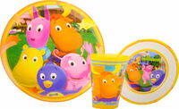The Backyardigans Mealtime Set 2 by Zak! Designs