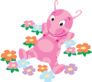 The Backyardigans Uniqua with Flowers Nickelodeon Nick Jr. Character