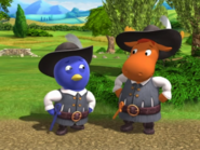 Backyardigans The Two Musketeers 6 Pablo Tyrone
