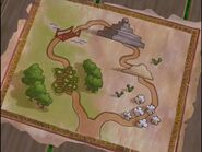 The Backyardigans Quest for the Flying Rock Map