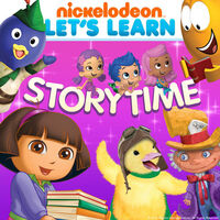 Nickelodeon Let's Learn Storytime - iTunes Cover (United States)