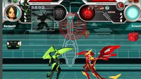 Meta Dragonoid First Time Ever!!!