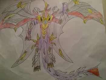 Olifon Dragonoid the Phantom Beserker