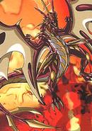 Ultra Dragonoid in Bakugan form