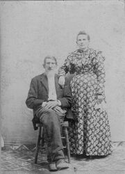 William Riley & Elizabeth Gobble Hudlow