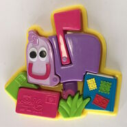 Blue's Clues Mailbox Puzzle Toy - Tyco 1998