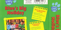 Blue's Big Holiday (VHS)