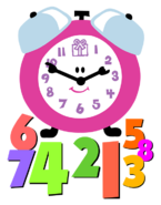 Blue's Clues Tickety Tock with Numbers