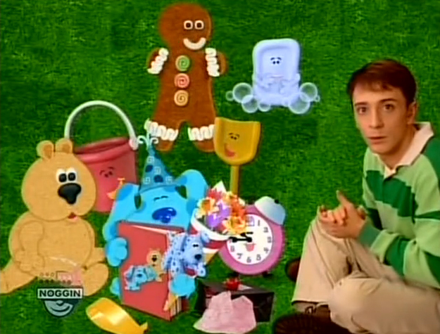 baby bear blues clues coloring pages - photo #34