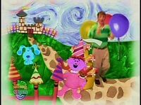Blue's Clues 02x06 What Was Blue's Dream About- 0001