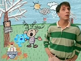 Blue's Clues A Snowy Day