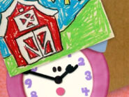 Blue's Clues Tickety Tock with Farm Drawing