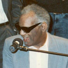 Ray Charles (cropped)