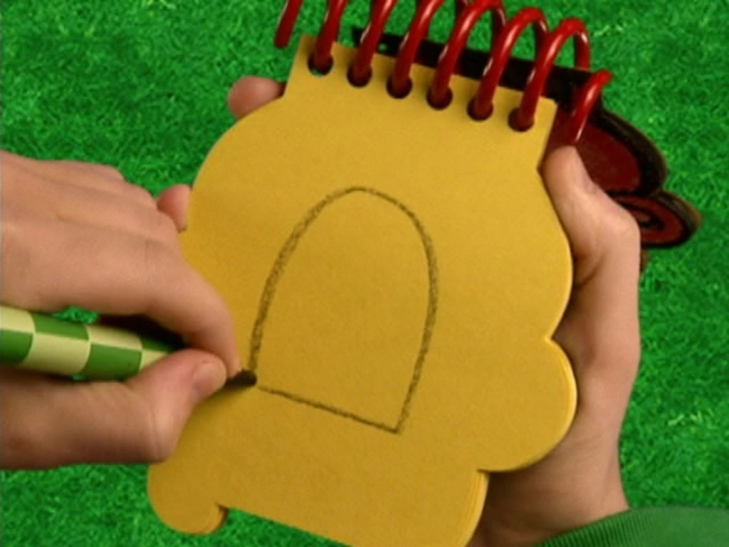 blues clues how to draw blues big bued