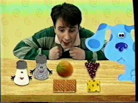 Blue's Clues Snack Time