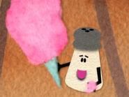 Blue's Clues Mr. Salt with Cotton Candy