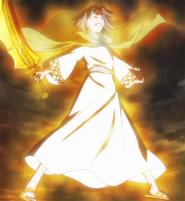 Verethragna with sword