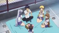 Godou, Erica, Yuri, Liliana and Shizuka