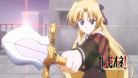 Erica and Holy Lance of Longinus.