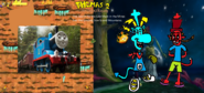 Thomas 2 - The Great Escape! - Part 15 - Thomas Collects The Fourth Mask in the Iron Mountains for James.