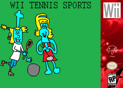 Wii Character Sports - (Nintendo Wii) Poster.