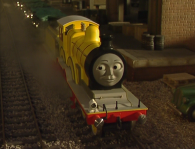 Molly the Yellow Engine